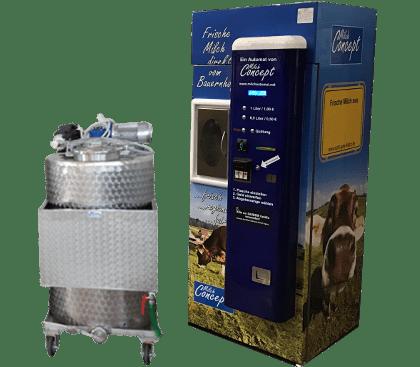 Direktvermarkter-Milchautomat